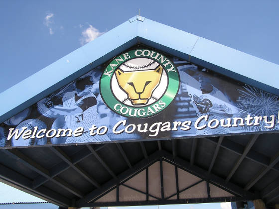 The Kane County Cougars - Elfstrom Stadium