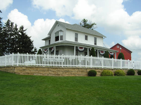 The House - Field of Dreams site